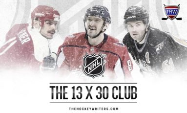 The NHL's Exclusive 13 x 30 Club