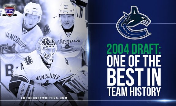 Vancouver Canucks' 2004 Draft: One of the Best in Team History with Cory Schnieder, Alex Edler and Jannik Hansen