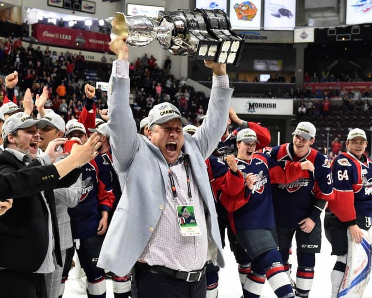 2017 Memorial Cup Erie Otters Windsor Spitfires