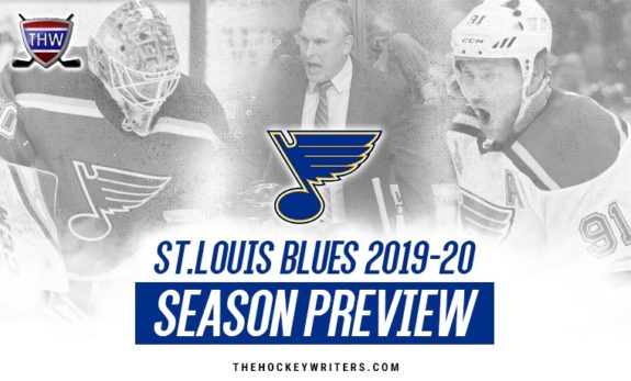 St. Louis Blues 2019-20 Season Preview