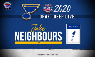 Blues' 2020 Draft Deep Dive: Jake Neighbours