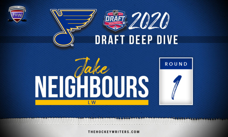 St. Louis Blues 2020 Draft Deep Dive Jake Neighbours