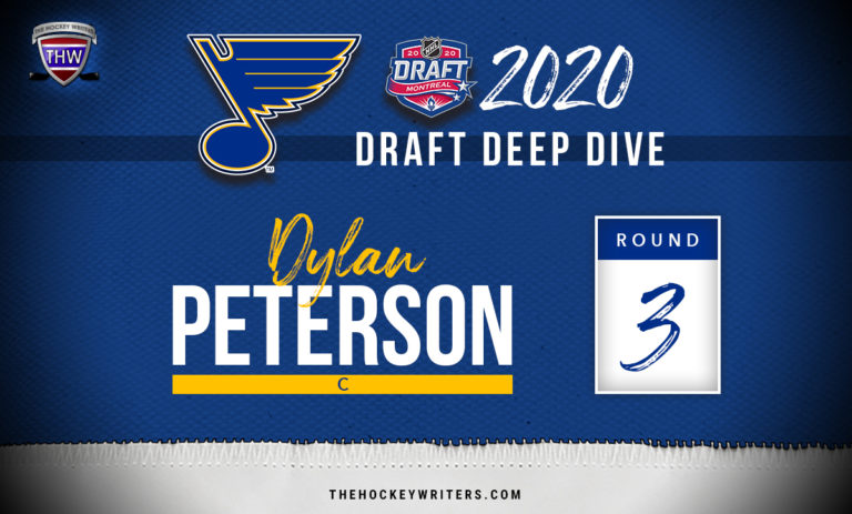 St. Louis Blues 2020 Draft Deep Dive Dylan Peterson