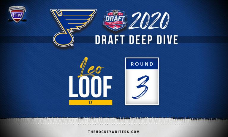 St. Louis Blues 2020 Draft Deep Dive Leo Loof
