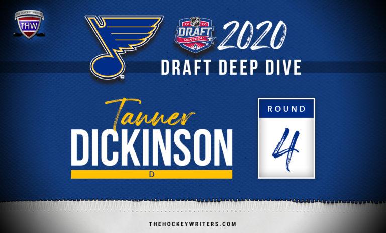 St. Louis Blues 2020 Draft Deep Dive Tanner Dickinson