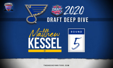 Blues' 2020 Draft Deep Dive: Defenseman Matthew Kessel