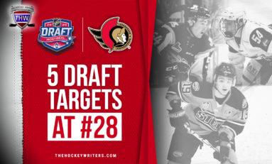 5 Ottawa Senators 2020 Draft Targets for 28th Overall