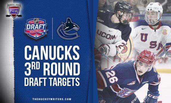 Vancouver Canucks Third Round Draft Targets Yan Kuznetsov, Jack Finley and Brett Berard