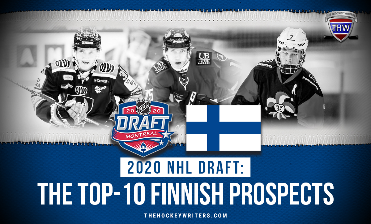2020 NHL Draft: The Top-10 Finnish Prospects Lundell, Simontaival, and Jurmo