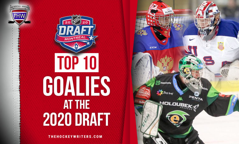 Top-ten 10 goalies at the 2020 draft Askarov, Drew Commesso and Jan Bednar