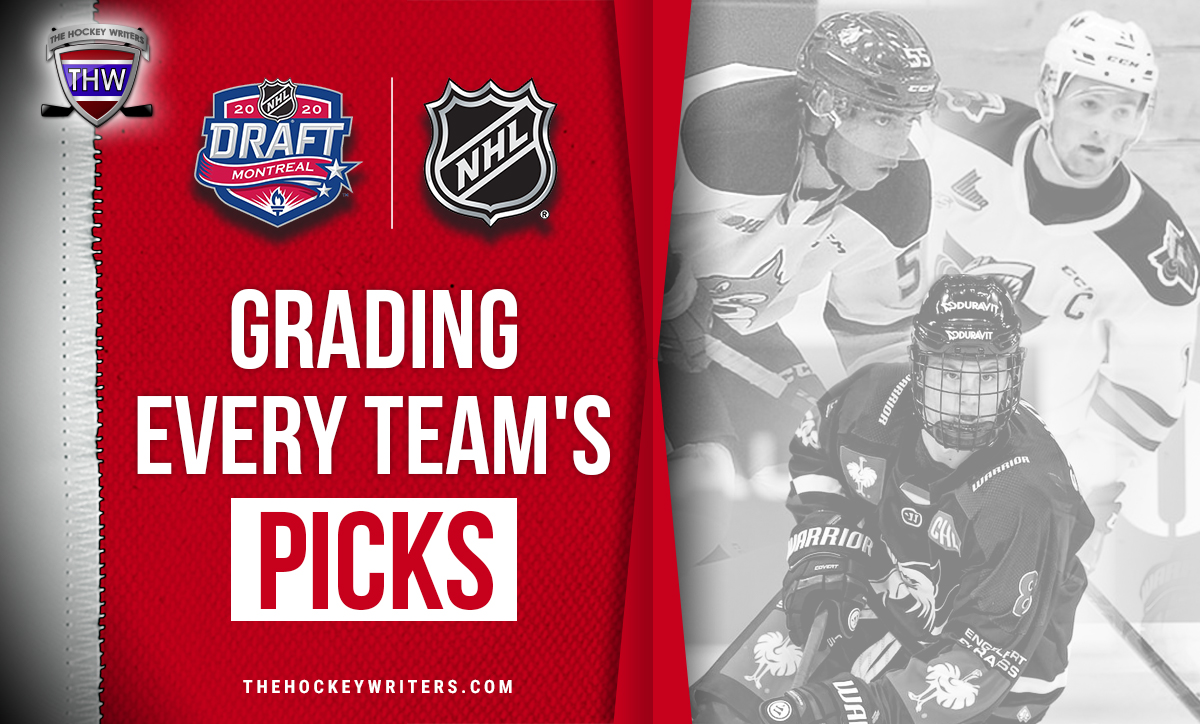 2020 NHL Draft: Grading Every Team's Picks Lafreniere and Byfield