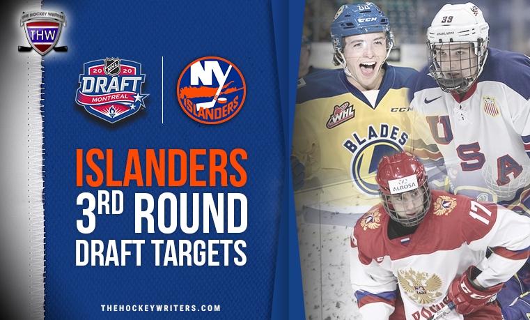 New York Islanders Third Round Draft Targets Tristen Robins, Bogdan Trineyev, Dylan Peterson
