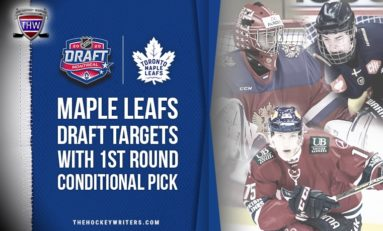 Maple Leafs Draft Targets With First Round Conditional Pick
