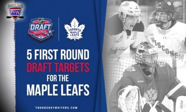 5 Maple Leafs' First-Round Draft Targets