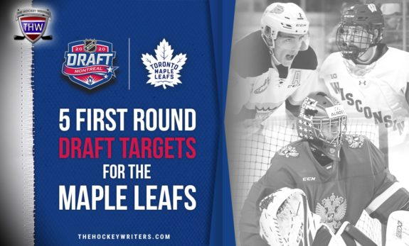 5 First Round Draft Targets for the Maple Leafs Braden Schneider, Yaroslav Askarov and Dylan Holloway