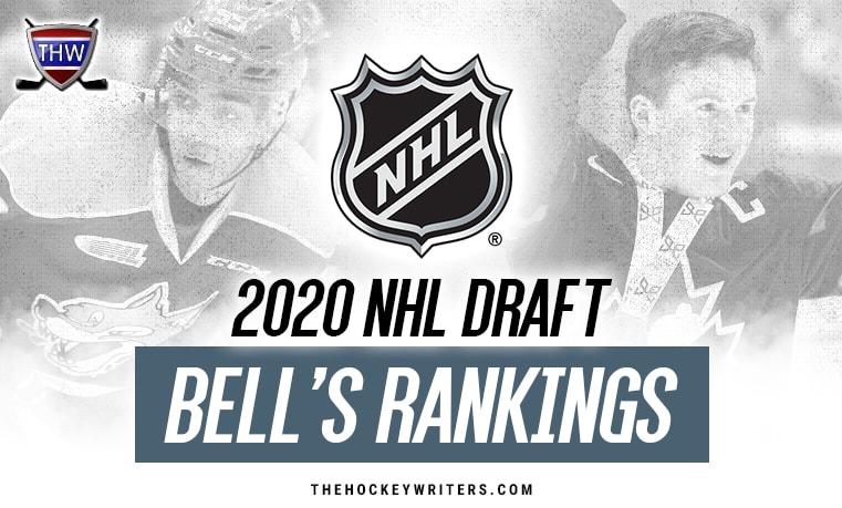 2020 NHL Draft: Bell's Top 124 February Rankings