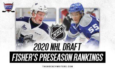 2020 NHL Draft: Fisher's Top 124 Preseason Rankings