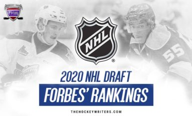 2020 NHL Draft Rankings: Forbes' Top 124 for February