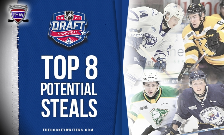 2020 NHL Draft: Top 8 Potential Steals
