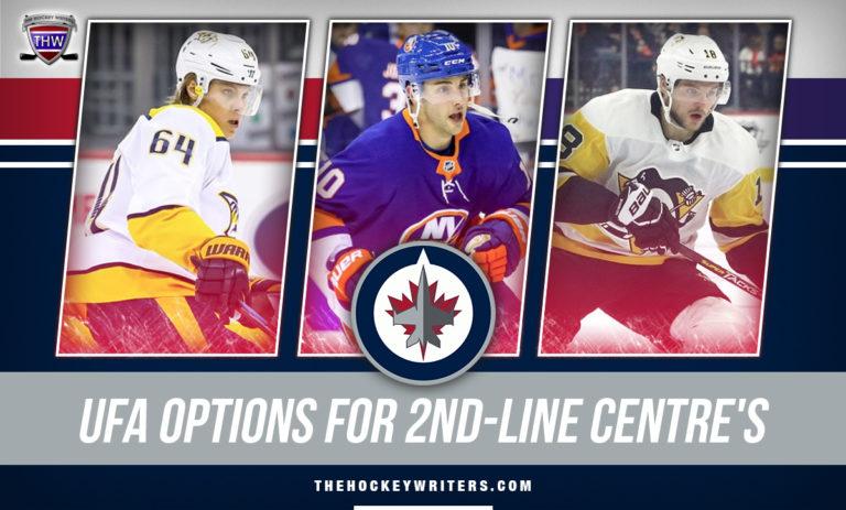 Winnipeg Jets UFA Options for Second-Line Centre Derrick Brassard, Alex Galchenyuk, Mikael Granlund