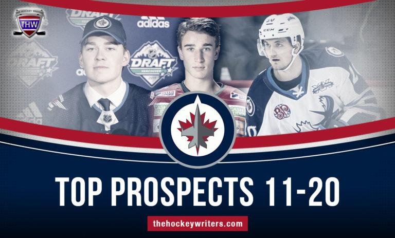 Kristian Reichel, Harrison Blaisdell, and Daniel Torgersson Winnipeg Jets' 2020-21 Top Prospects 11-20