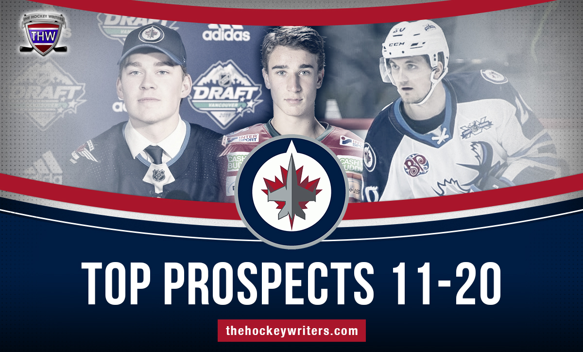 Kristian Reichel, Harrison Blaisdell, and Daniel Torgersson Winnipeg Jets' 2020-21 Top Prospects 11-20