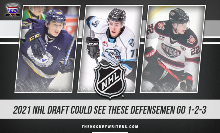 Brandt Clarke, Carson Lambos and Owen Power 2021 NHL Draft Could See These Defensemen Go 1-2-3