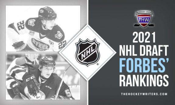 Brandt Clarke Owen Power 2021 NHL Draft Forbes' Rankings