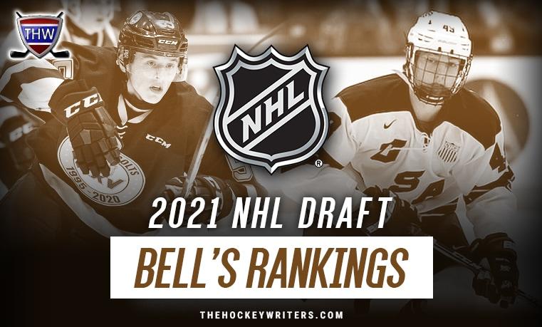 Luke Hughes and Brandt Clarke 2021 NHL Draft Bell's Rankings
