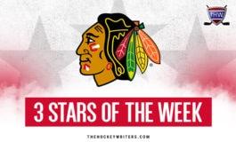 Blackhawks' 3 Stars of the Week: Oct. 7-13