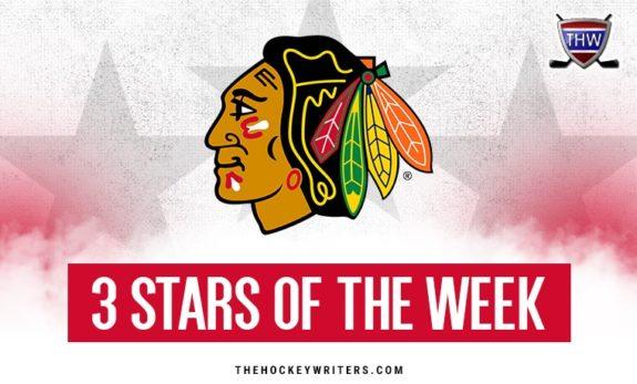 Chicago Blackhawks 3 stars of the week