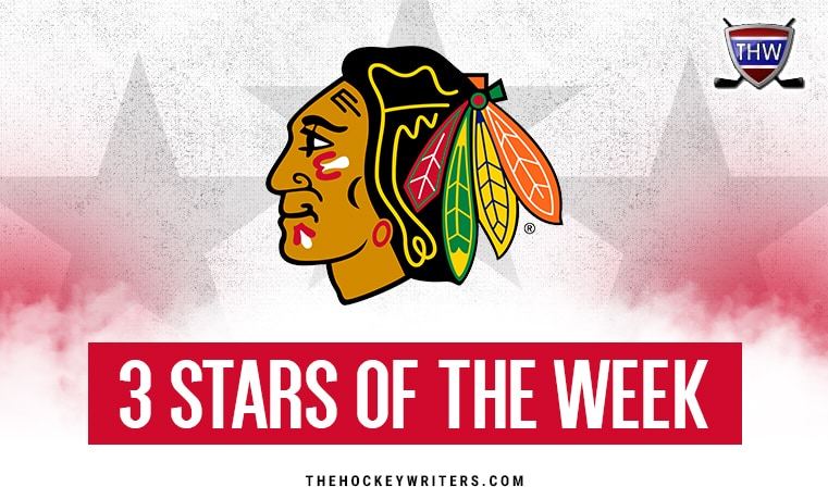 Chicago Blackhawks 3 stars of the week