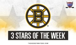 Bruins 3 Stars of the Week: Oct. 8-14