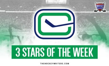 Vancouver Canucks' 3 Stars of the Week: Oct 7-14