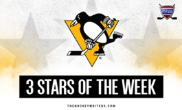 Penguins' 3 Stars of the Week