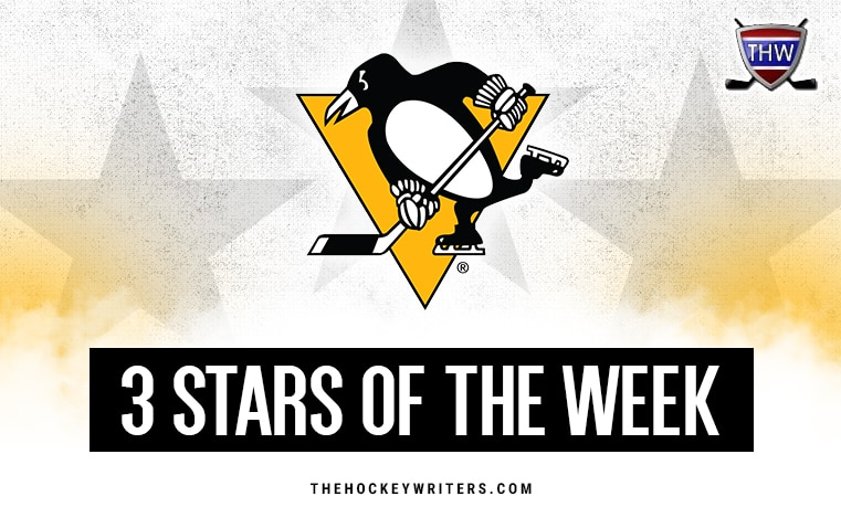 3 stars of the Week Pittsburgh Penguins
