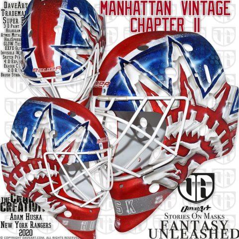 vintage Rangers mask