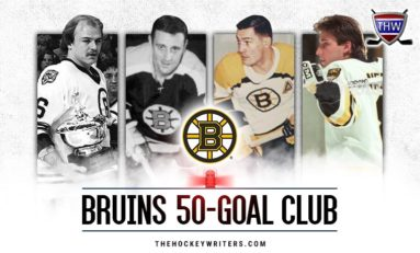 Boston Bruins 50-Goal Scorers