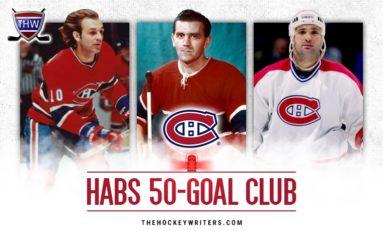 Montreal Canadiens 50-Goal Scorers