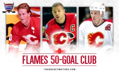 Calgary Flames' 50-Goal Scorers
