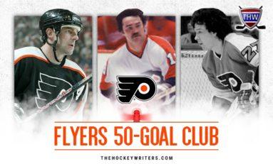 Philadelphia Flyers' 50-Goal Scorers