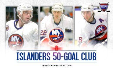 New York Islanders' 50-Goal Scorers