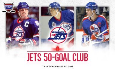 Winnipeg Jets' 50-Goal Scorers