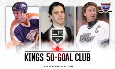 Los Angeles Kings' 50-Goal Scorers