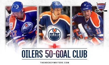 Edmonton Oilers 50-Goal Scorers