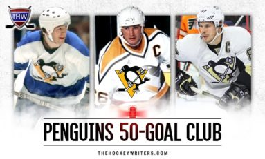 Pittsburgh Penguins' 50-Goal Scorers