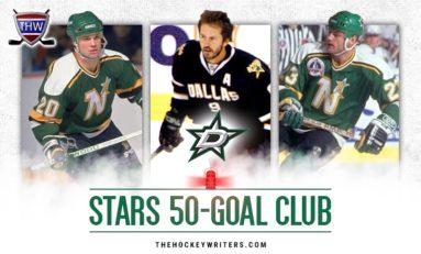 Dallas Stars' 50-Goal Scorers