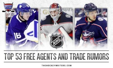 NHL Rumors: Latest on 53 Free Agents and Trade Targets