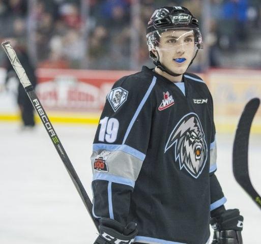 Peyton Krebs Kootenay Ice