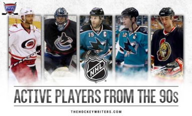 Last Active NHLers From the 90's